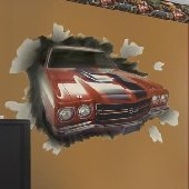 1970 Chevelle SS-396 Through the Wall Peel & Stick