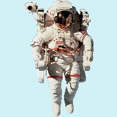 NASA Astronaut Peel and Stick Wall Mural