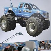 Bigfoot Monster Truck Prepasted Wall Mural