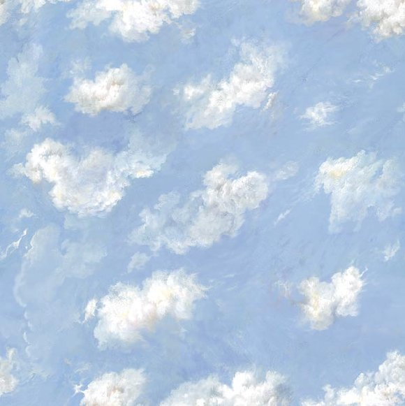 Ceiling sky peel and stick mural for Cloud mural ceiling