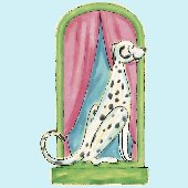 Dalmation Peel and Stick Wall Mural