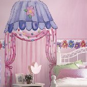 Groovy Town Canopy Peel and Stick Mural 2 Colors