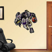 Fathead Baltimore Rampaging Raven Decal
