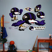 Fathead Baltimore Ravens Rusher Decal