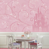 Disney Princess Scroll Castle XL Wall Mural