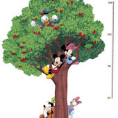 Mickey and Friends Metric Growth Chart