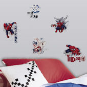 Ultimate Spiderman Graphic Wall Decals