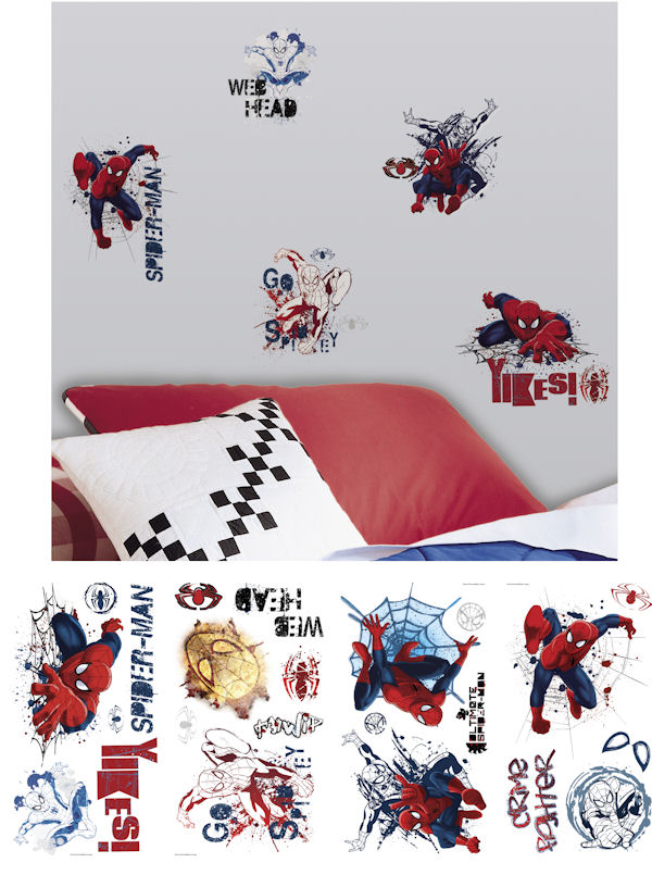 Ultimate Spiderman Graphic Wall Decals  - Wall Sticker Outlet
