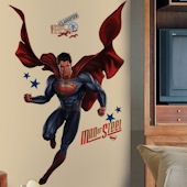 Superman Man Of Steel Peel and Stick Giant Decals