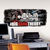 THe Big Bang Theory Giant Wall Decal