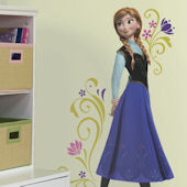 Disney Frozen Anna Giant Wall Decal