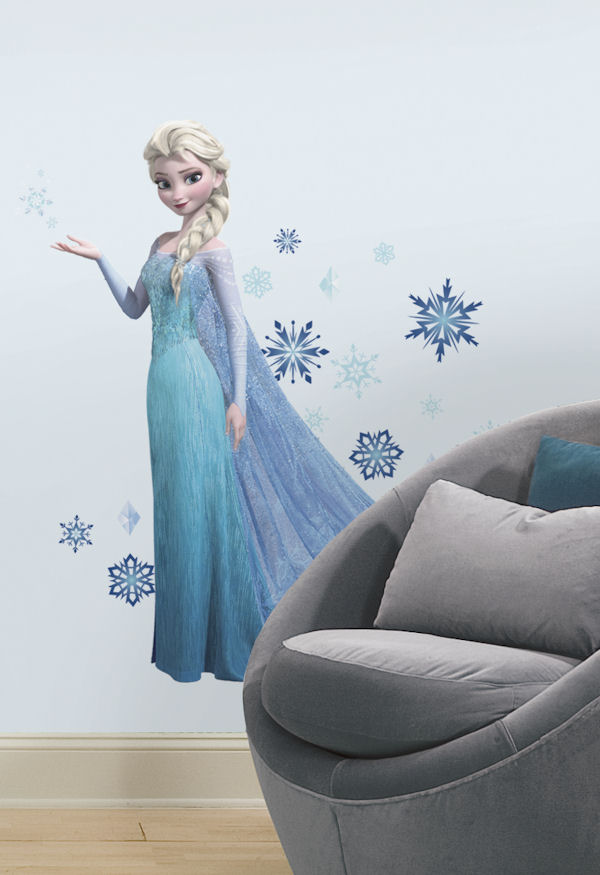 Disney Frozen Elsa Giant Wall Decal - Wall Sticker Outlet