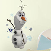 Disney Frozen Olaf the Snow Man Giant Wall Decal