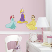 Disney Princess Set of Three Foam Wall Decals