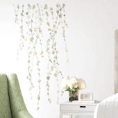 Hanging Vine Watercolor Peel and Stick Wall Decal