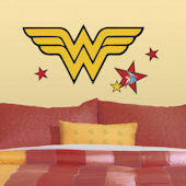 Classic Wonder Woman Logo Giant Wall Decal