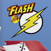Classic Flash Logo Giant Wall Decal