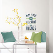 Room For Friends Peel and Stick Wall Quote