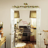 Seasons Greetings Ivy Peel and Stick Wall Decals