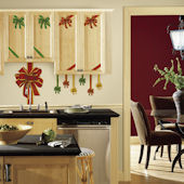 Holiday Bows Peel and Stick Wall Decal