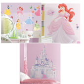 Ariel Decal Room Package