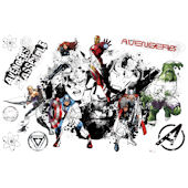 Avengers Assemble Graphic Peel Stick Wall Decal