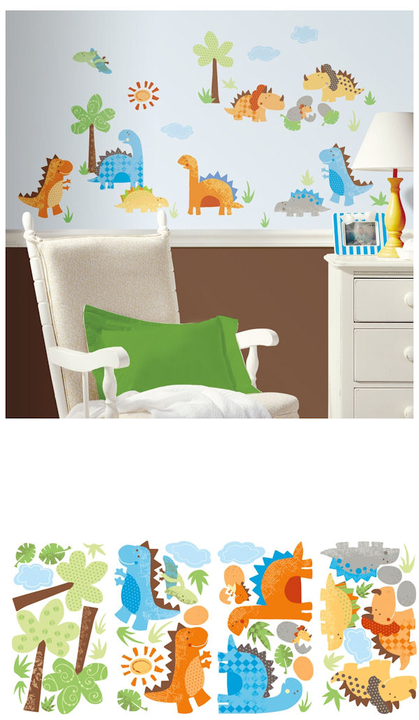 Babysaurus Wall Decals - Wall Sticker Outlet