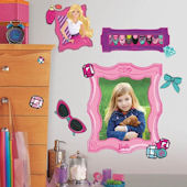 Barbie Fabulous Frames Giant Wall Decals