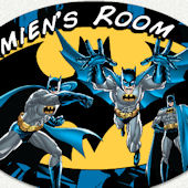 Batman Custom Name Wall Decal