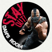 Batman Bane Custom Wall Decal