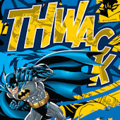 Batman Thwack Custom Wall Decal