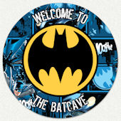 Batman Welcome Batcave Custom Wall Decal