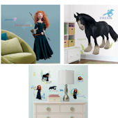 Brave Decal Room Package #1