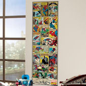 Classic Spiderman Comic Book Wall Panel