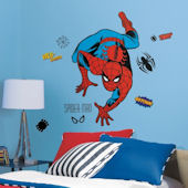 Classic Spiderman Giant Wall Decals