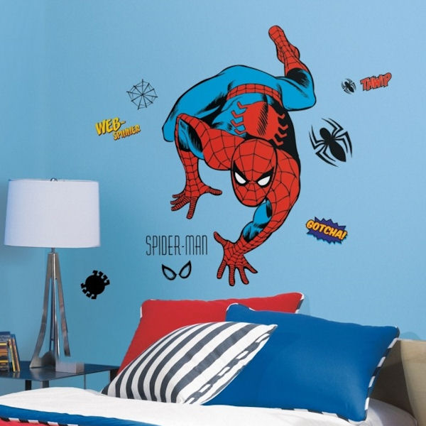 Classic Spiderman Giant Wall Decals - Wall Sticker Outlet
