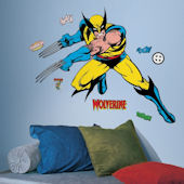 Classic Wolverine Giant Wall Decals