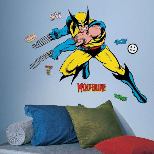 Classic Wolverine Giant Wall Decals - Wall Sticker Outlet