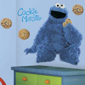 Sesame Street Cookie Monster Giant Wall Sticker