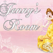 Disney Princess Belle Room Custom Wall Decal