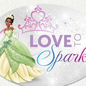 Disney Princess Love To Sparkle Custom Wall Decal