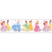 Dancing Princess White Prepasted Border