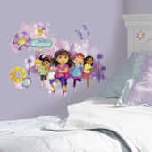 Dora and Friends Peel and Stick Wall Graphix Giant