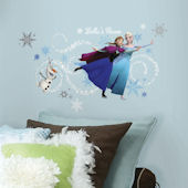 Frozen Custom Personalized Headboard Wall Decal