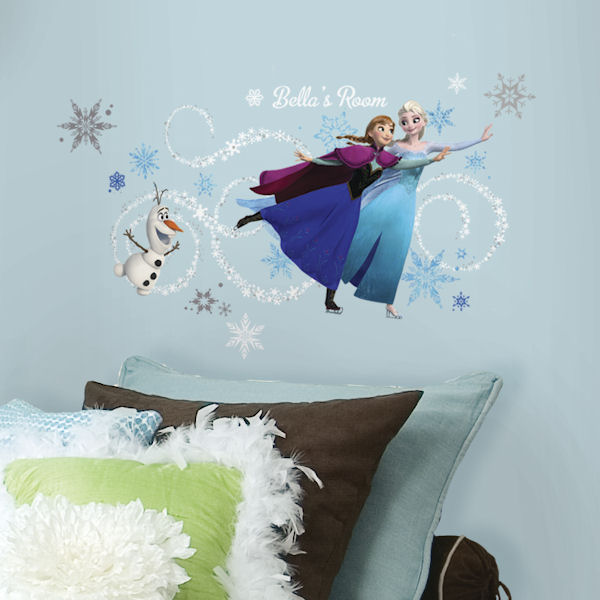 Frozen Custom Personalized Headboard Wall Decal - Wall Sticker Outlet