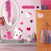Hello Kitty Couture Wall Decals