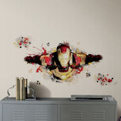 Iron Man 3 Graphic Peel and Stick Giant Wall Decal