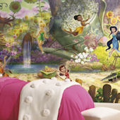 Disney Fairies Pixie Hollow XL Mural 6.5 x 10