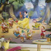 Snow White Giant XL Wall Mural 6.5 x 10 Feet
