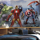 Avengers Assemble Giant XL Mural 6.5 x 10 Feet